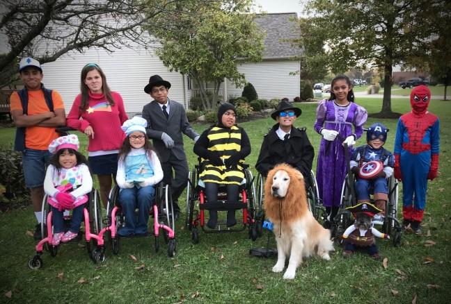 Halloween dress-ups